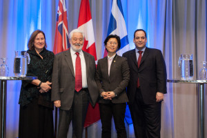 BIE Secretary General Speaks at MaRS about Toronto's Expo 2025 opportunity with Councillor Kristyn Wong-Tam Ward 27