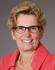 Kathleen Wynne, Premier,Province of Ontario